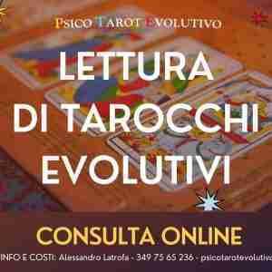Lettura di tarocchi evolutivi online
